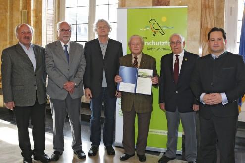 Verleihung Naturschutzpreis