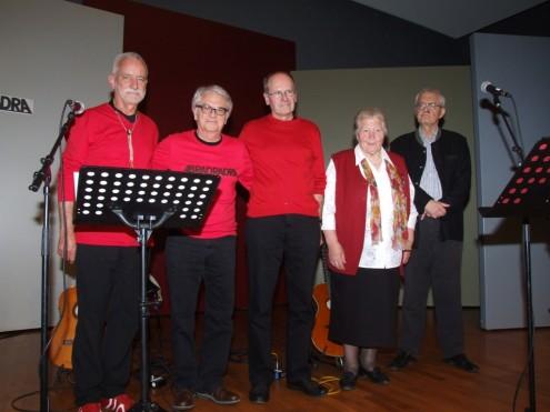 Die Band Abradradra, Oma Paula und Karl Napf